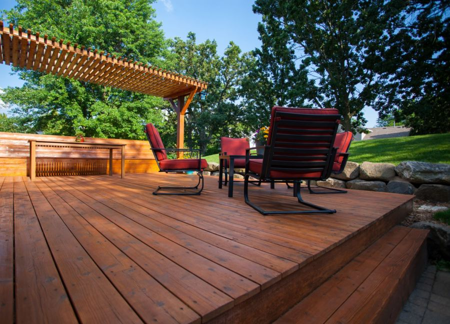 Deck Staining by Jo Co Painting LLC